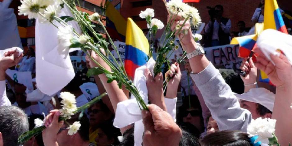 Obreros realizan paro nacional en Colombia