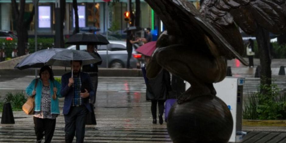Persisten lluvias intensas en la mayor parte del país