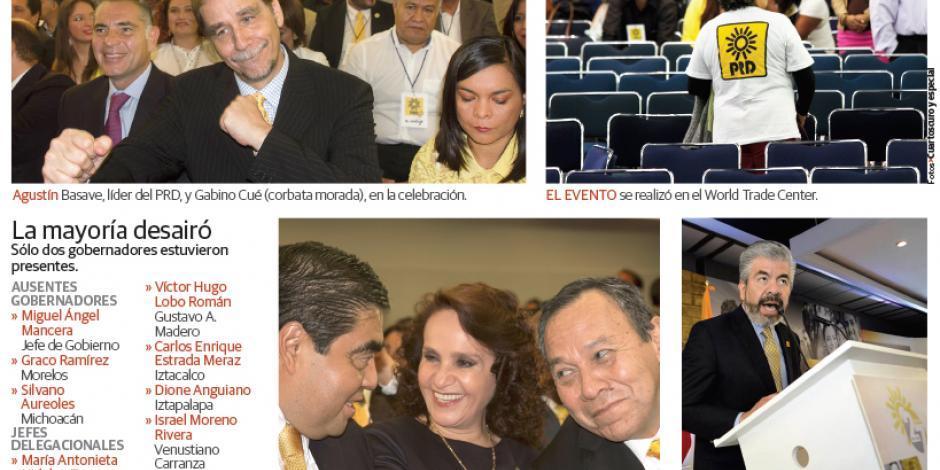 En festejo del PRD destapan  a Mancera para  la Presidencia