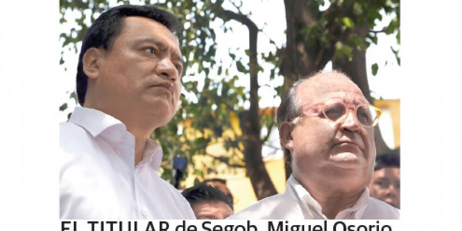 Osorio llama a partidos a evitar caer en enconos