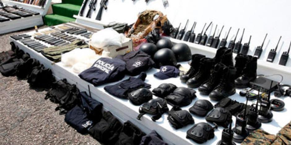 Sedena y Semar incautan armas y vehículos en operativos en Sinaloa