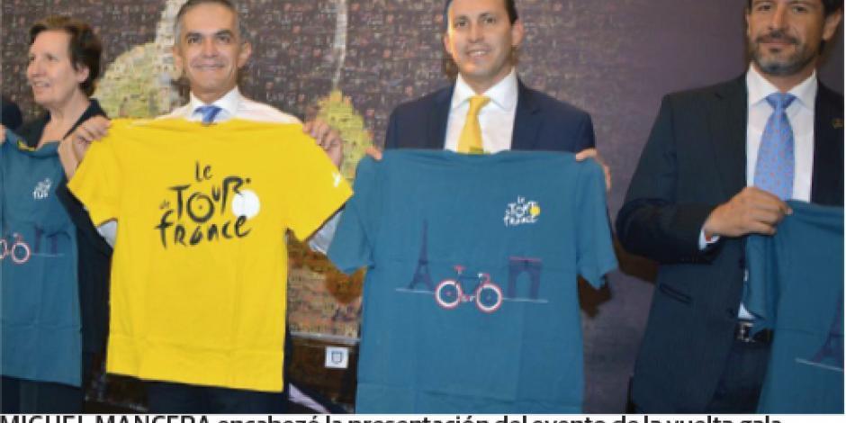 El Tour de Francia tendrá evento en CDMX