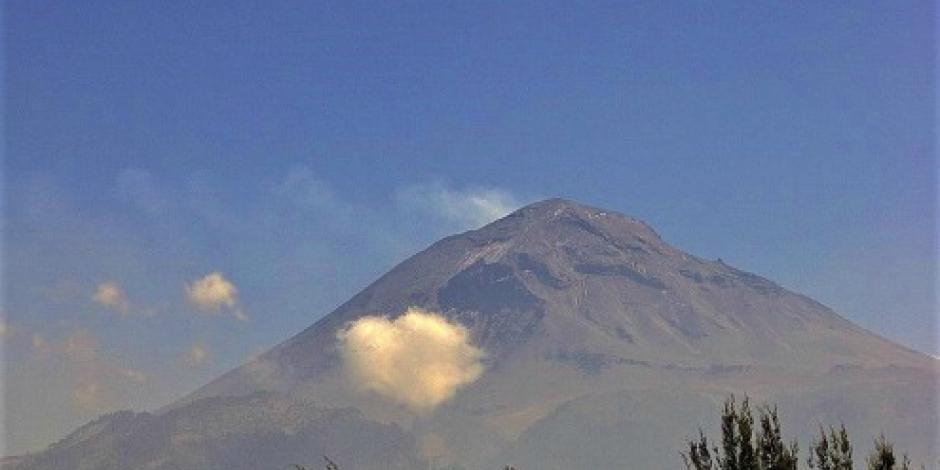 Registra Popocatépetl 71 exhalaciones de baja intensidad