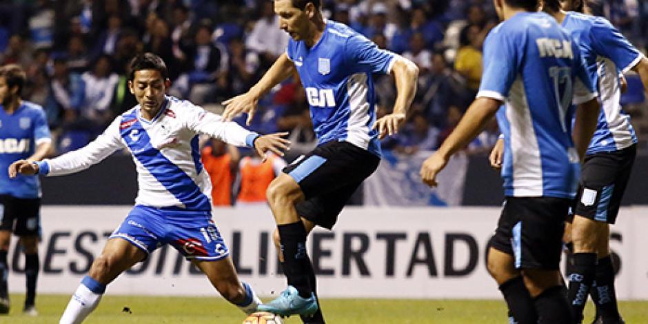 Puebla empata con el Racing en Copa Libertadores