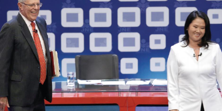 A 6 días de la elección, Fujimori pierde debate