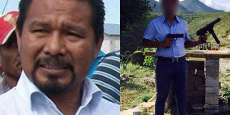 Piden catear casa de candidato en Hidalgo, tras exhibir a su hijo con armas