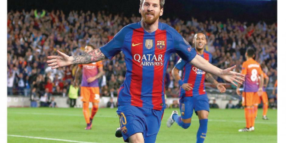 Leo, 50 goles en casa y récord de Champions