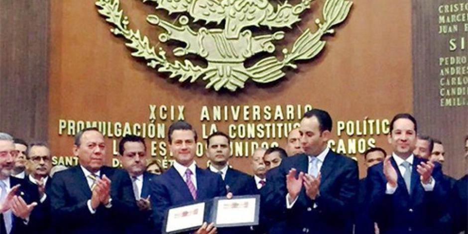 EPN presentará en Centenario de la Constitución reformas en justicia