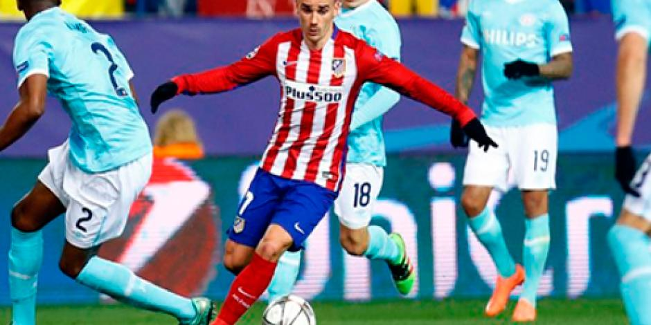 Atlético pasa a cuartos de final de la Champions League