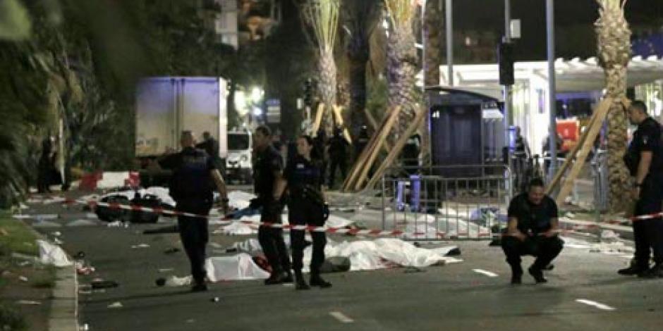 Detienen a 11 presuntos cómplices de autor de atentado de Niza