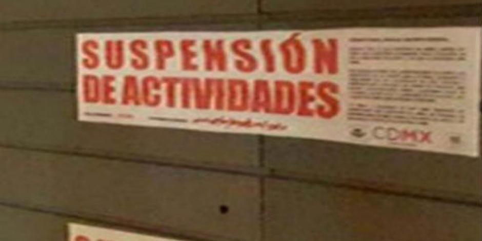 CDMX suspende 3 bares por violar normas adminstrativas