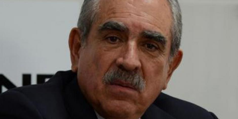 Pablo Gómez renuncia como representación del PRD ante el INE