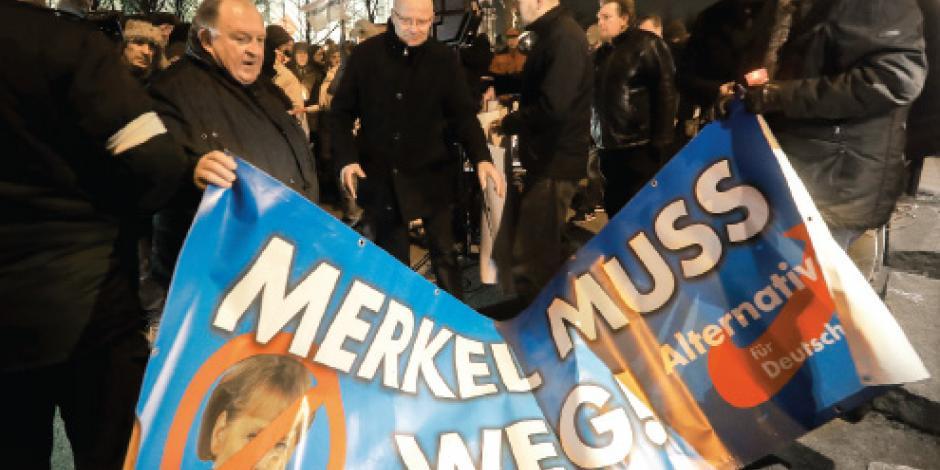 Alemania dividida en dos por el terrorismo