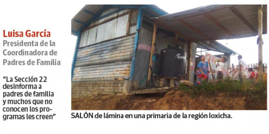 La CNTE impide que 365 escuelas tengan piso, techo...