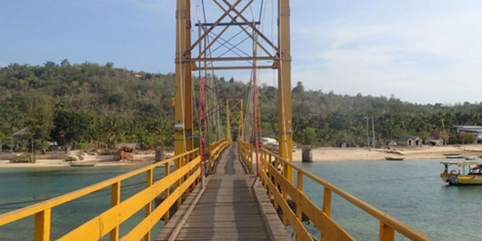 Mueren 9 personas tras derrumbe de puente en Indonesia