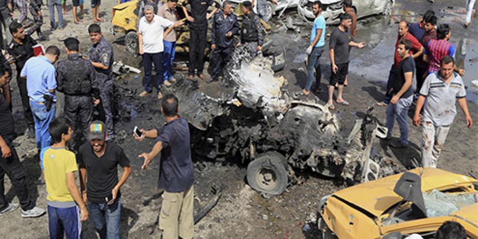 Atentado en mercado de Bagdad deja 13 muertos