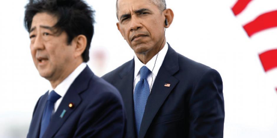 Obama afianza lazos con Japón, en último aliento