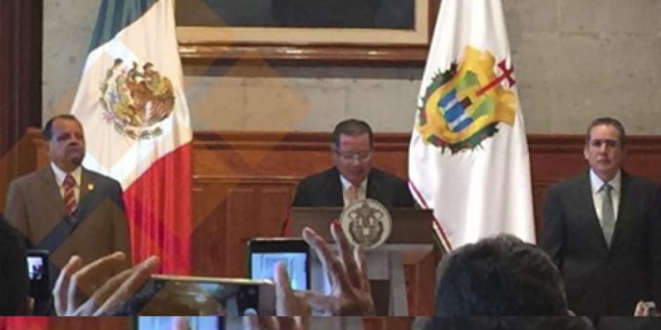 Flavino Ríos designa secretario de gobierno en Veracruz