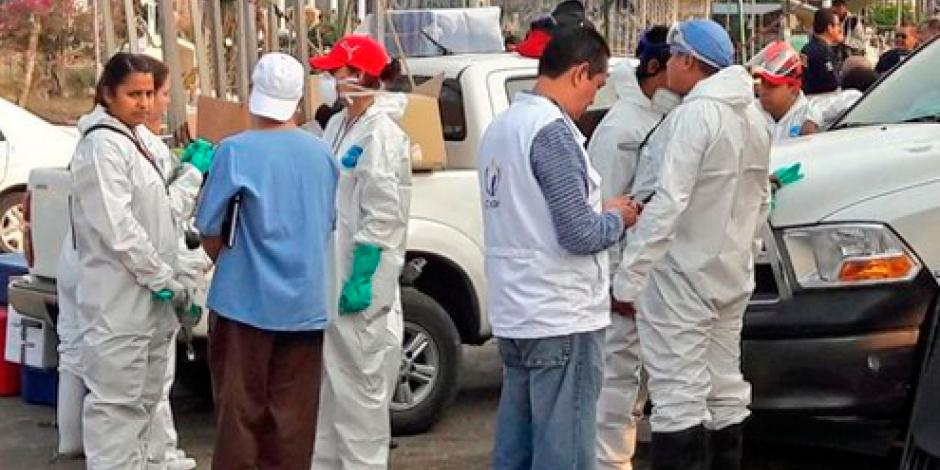 Suspenden exhumación de cuerpos en Tetelcingo, Morelos