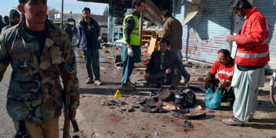 Ataque suicida deja al menos 8 muertos en Pakistán