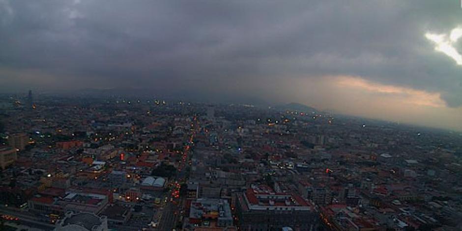 Buena, calidad del aire en el Valle de México