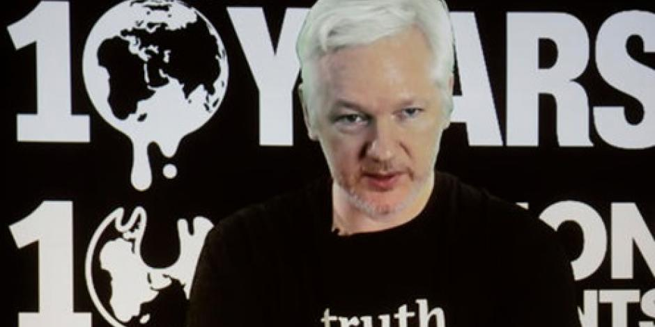 Dejan a Assange sin Internet tras filtrar datos sobre Clinton