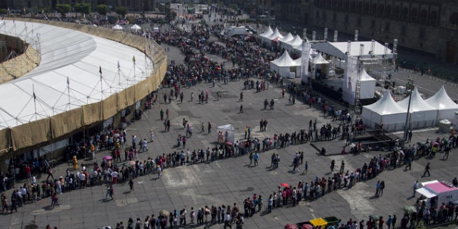 Miles asisten a la Feria de las Culturas de la CDMX