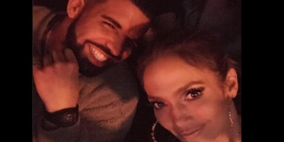 Jennifer Lopez publica una foto abrazada a Drake, ¿Confirma así su romance?