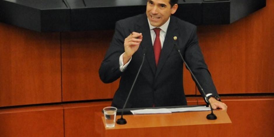 Perfilan a Pablo Escudero para presidir el Senado