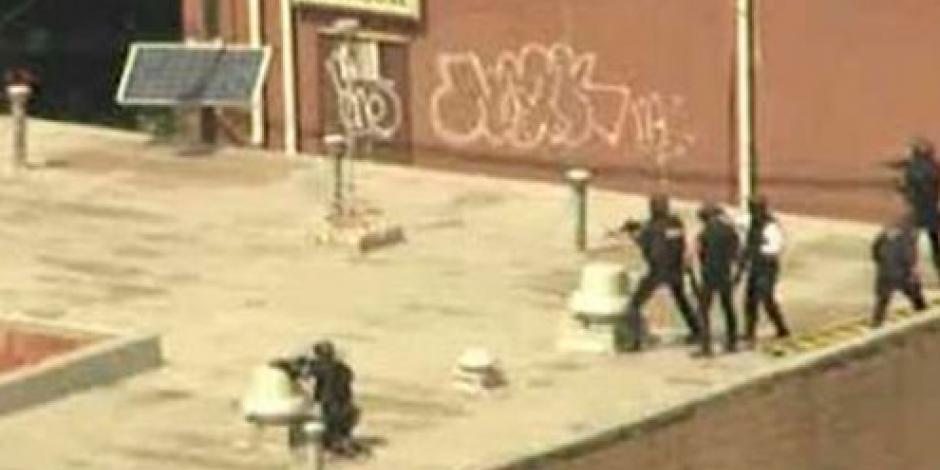 Reportan toma de rehenes en edificio de Newark, EU