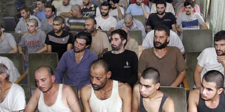 Asesinan a 10 cada día en cárceles de Al Asad