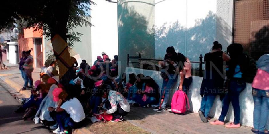 Sección 22 toma dependencias en Oaxaca