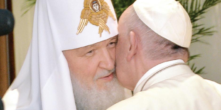 Iglesias ortodoxa y católica se abrazan mil años después