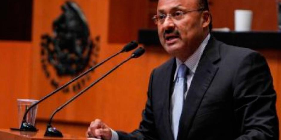 Deja el Senado René Juárez; será subsecretario de Gobernación