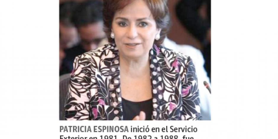 Eligen a Espinosa para la ONU