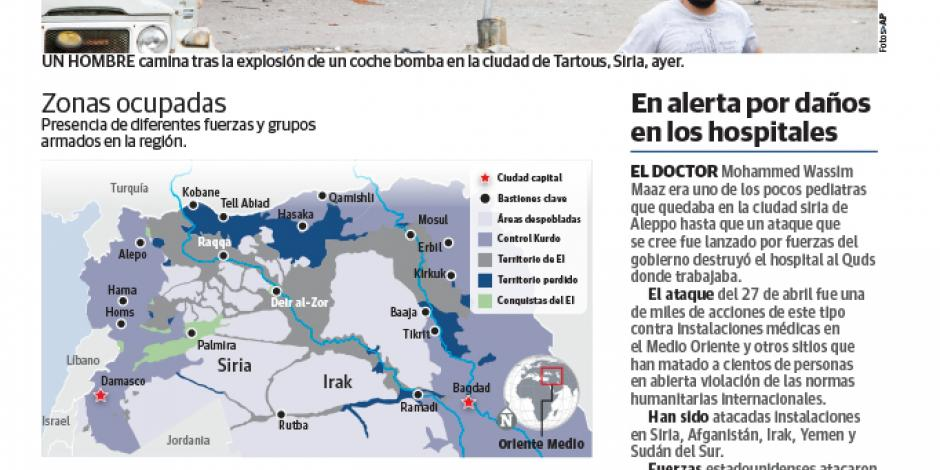 El EI invade bastiones rusos en Siria y mata a 148 personas