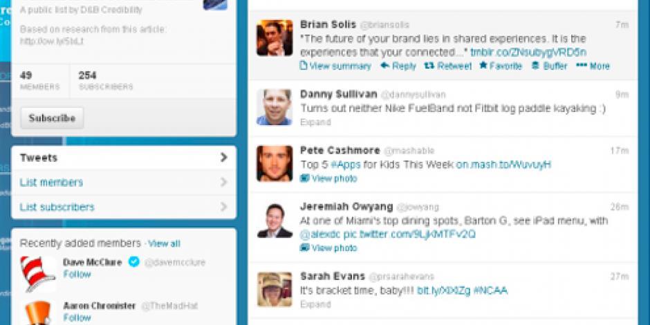 Twitter anuncia cambios en su timeline