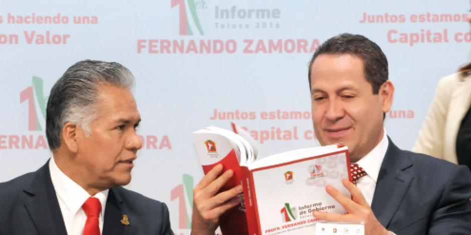 Eruviel destaca calidad de vida de Toluca