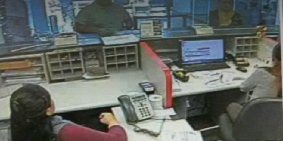 Investiga PGJ capitalina asalto a banco en la colonia Doctores