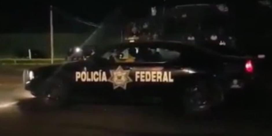 Usan patrulla federal en arrancones