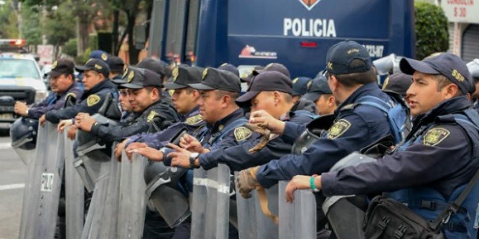 Derechos Humanos reconoce a SSPCDMX por aceptar recomendaciones