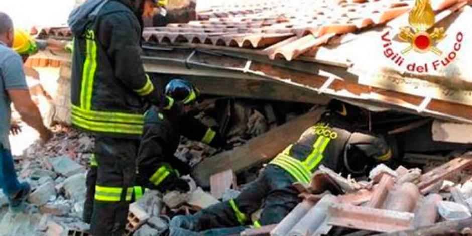 EPN expresa condolencias por sismo en Italia
