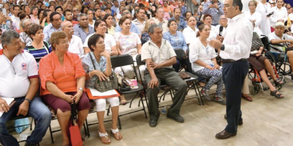 Dan créditos del ISSSTE  en Guerrero