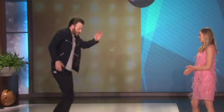 Chris Evans y Elizabeth Olsen se enfrentan en duelo de baile