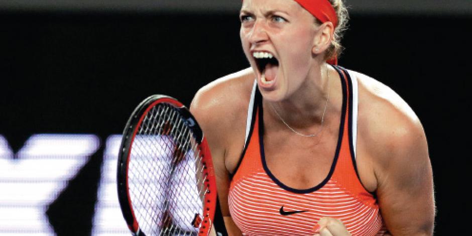 Petra Kvitova perderá 6 meses; también 1.25 mdd