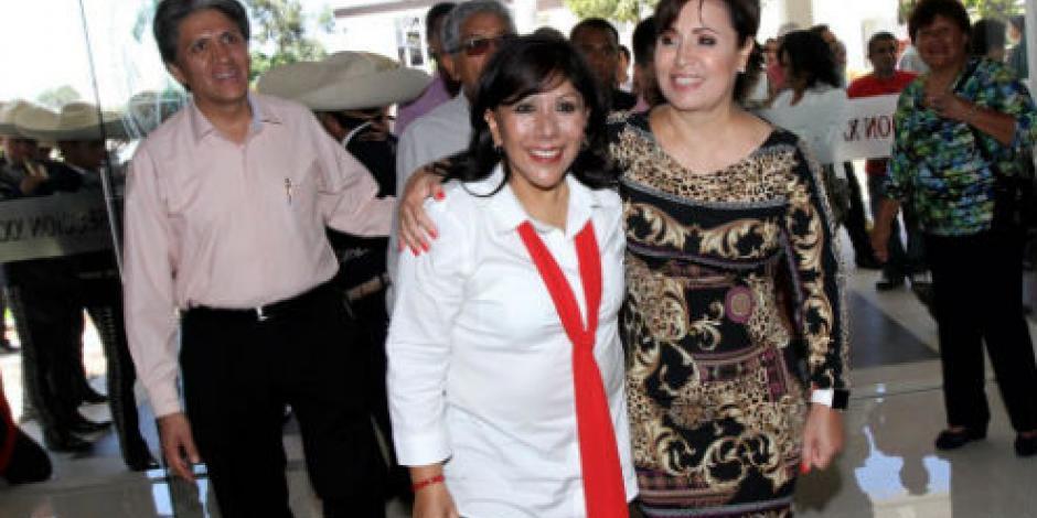 Rosario Robles presenta a mujeres de Tlaxcala programas de SEDATU