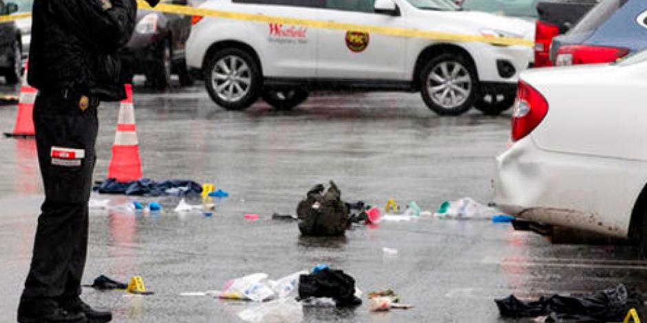 Doble tiroteo en centro comercial de EU deja un muerto