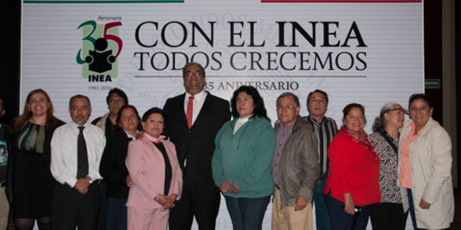 INEA cumple 35 años abatiendo el rezago educativo, afirma Nuño