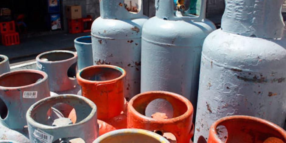 Precio del gas LP se mantiene en 14.53 pesos en la CDMX