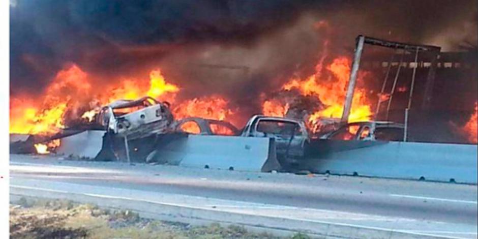 Carambola en la carretera Puebla-Orizaba deja al menos dos muertos